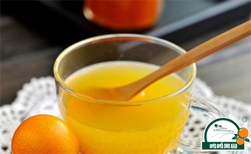 上好的柑橘蜜