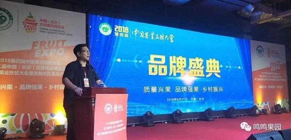 第四届中国果业品牌大会现场