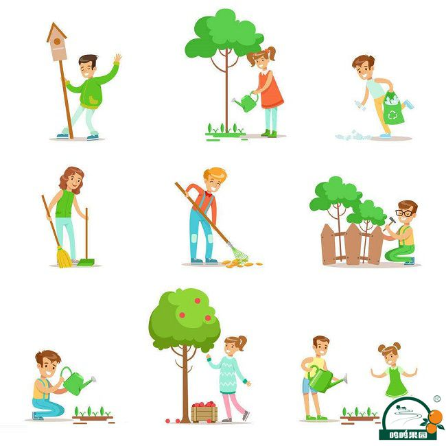 种植果树图片